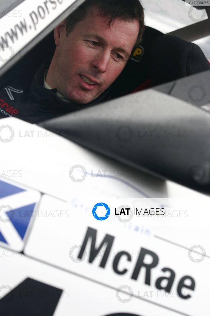 2006 Porsche Carrera Cup. Knockhill, Scotland. 2nd - 3rd September. Colin McRae. Portrait. World Copyright: Drew Gibson/LAT Photographic. Ref: Digital Image Only.