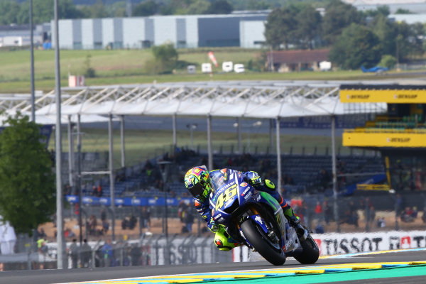 2017 MotoGP Championship - Round 5 Le Mans, France Friday 19 May 2017 Valentino Rossi, Yamaha Factory Racing World Copyright: Gold & Goose Photography/LAT Images ref: Digital Image 670420