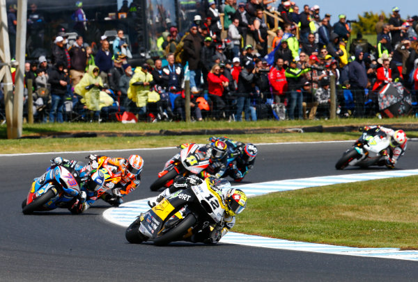 2017 Moto2 Championship - Round 16 Phillip Island, Australia. Sunday 22 October 2017 Thomas Luthi, CarXpert Interwetten World Copyright: Gold and Goose / LAT Images ref: Digital Image 24761