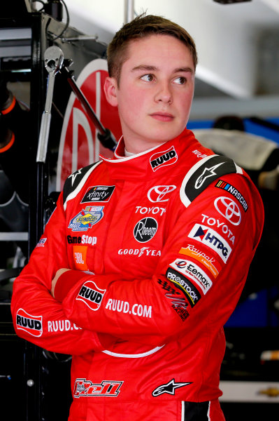 NASCAR Xfinity Series Rinnai 250 Atlanta Motor Speedway, Hampton, GA USA Friday 23 February 2018 Christopher Bell, Joe Gibbs Racing, Ruud Toyota Camry World Copyright: Matthew T. Thacker NKP / LAT Images