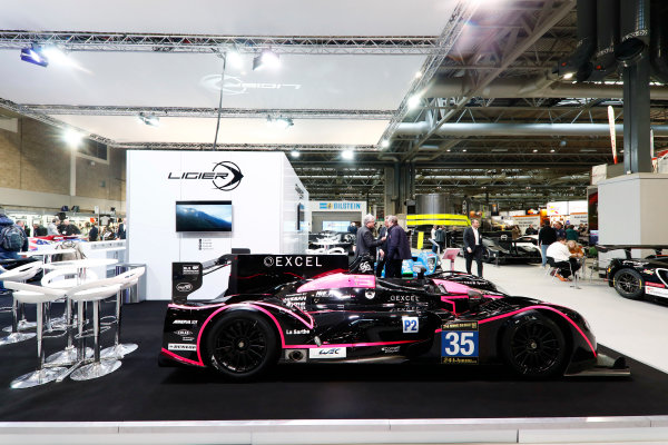 Autosport International Exhibition. National Exhibition Centre, Birmingham, UK. Thursday 11th January 2018. The Ligier stand.World Copyright: Glenn Dunbar/LAT Images Ref: _31I1984