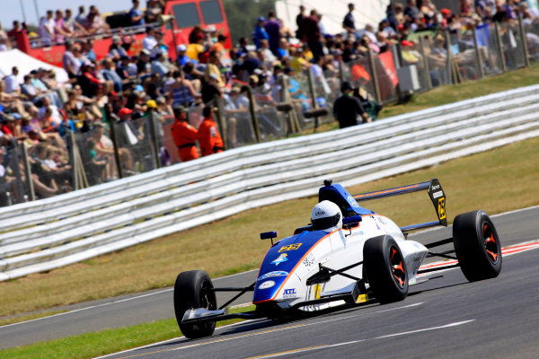 2014 MSA Formula Ford Championship of Great Britain, Snetterton, Norfolk. 1st - 3rd August 2014. Louise Richardson (GBR) Richardson Racing Mygale. World Copyright: Ebrey / LAT Photographic.