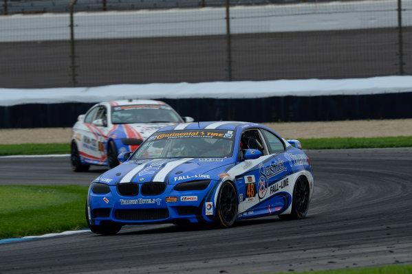 24-25 July,  2014, Indianapolis, Indiana, USA 48, BMW, M3, GS, Shelby Blackstock, Joey Atterbury ©2014, Richard Dole LAT Photo USA