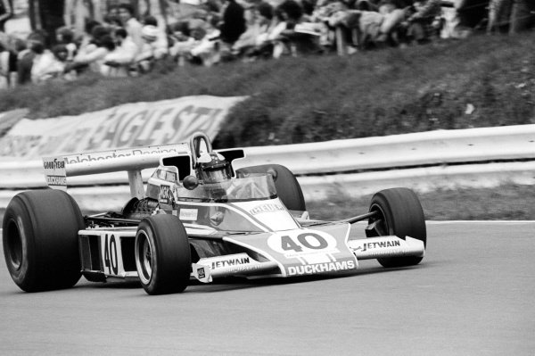 Tony Trimmer (GBR) Melchester Racing McLaren M23, failed to qualify on his sixth and final GP appearance. He never started a GP.British Grand Prix, Rd 10, Brands Hatch, England, 16 July 1978.