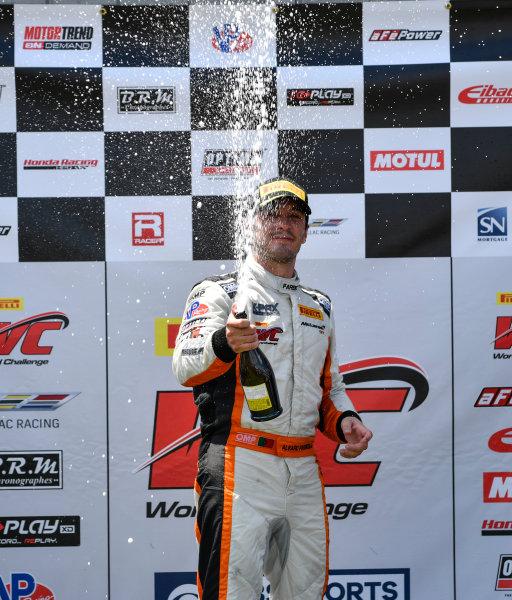 Pirelli World Challenge Grand Prix of Mid-Ohio Mid-Ohio Sports Car Course, Lexington, OH USA Sunday 30 July 2017 Alvaro Parente World Copyright: Richard Dole/LAT Images ref: Digital Image RD_MIDO_17_314