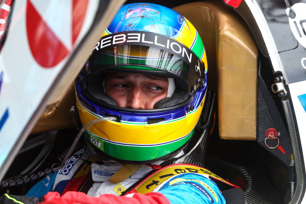 2017 Le Mans 24 Hours Test day, Le Mans, France. 4th June 2017. #31 Vaillante Rebellion ORECA 07-Gibson: Bruno Senna. World Copyright: JEP/LAT Images.