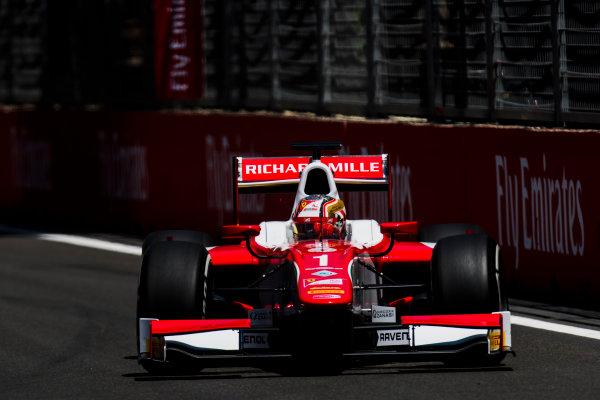 2017 FIA Formula 2 Round 4. Baku City Circuit, Baku, Azerbaijan. Friday 23 June 2017. Charles Leclerc (MCO, PREMA Racing)  Photo: Zak Mauger/FIA Formula 2. ref: Digital Image _54I9698