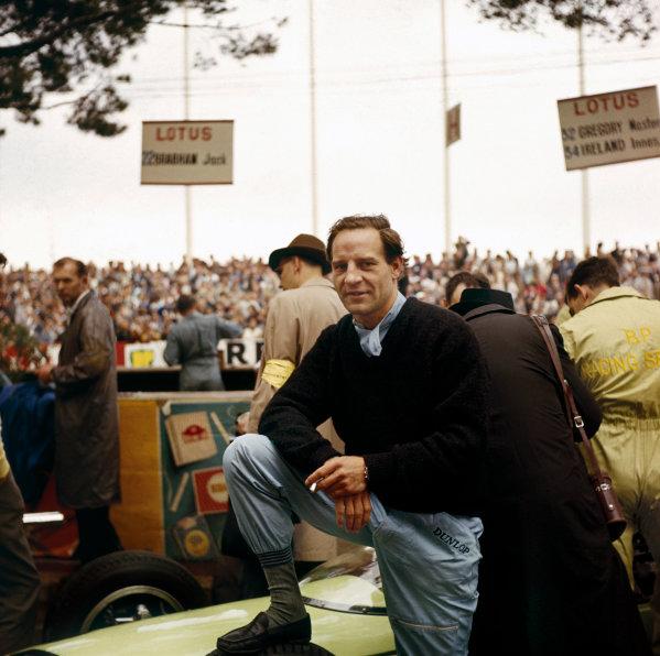 Monte Carlo, Monaco. 31 May- 3rd June 1962.Innes Ireland, portrait.Ref-3/0500.World Copyright - LAT Photographic