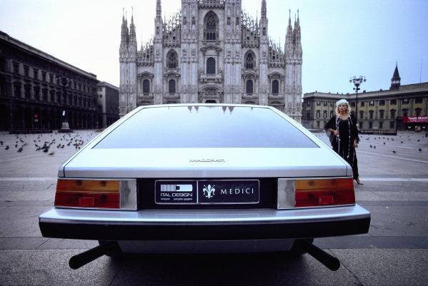 Concept Car, Italdesign Maserati Medici I, 1974