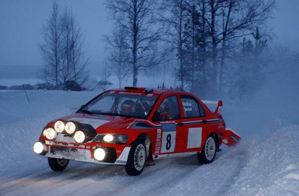 2002 World Rally ChampionshipUddeholm Swedish Rally, 1st-3rd February 2002.Alister McRae on stage 5.Photo: Ralph Hardwick/LAT
