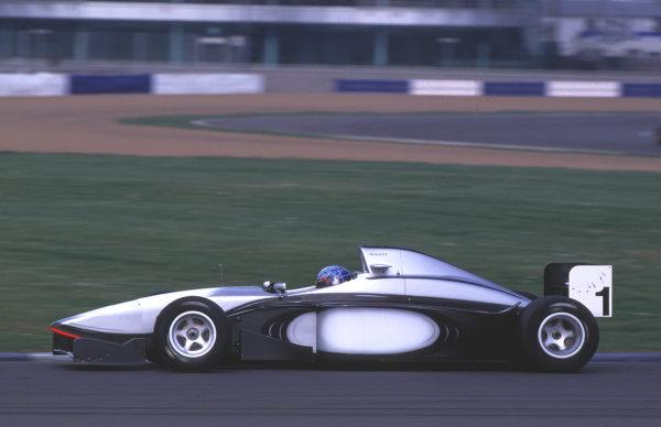Silverstone, England. 22-23/3/2000. Stephane Sarrazin, Team MySAP.com World Copyright: LAT Photographic.