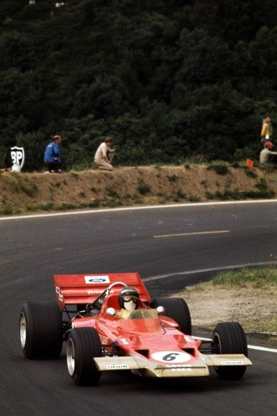1970 French Grand Prix.Clermont-Ferrand, France.3-5 July 1970.Jochen Rindt (Lotus 72C Ford) 1st position.Ref-70 FRA 03.World Copyright - LAT Photographic