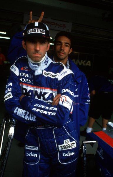 1997 German Grand Prix.Hockenheim, Germany.25-27 July 1997Damon Hill (Arrows A18 Yamaha).World Copyright - LAT Photographic