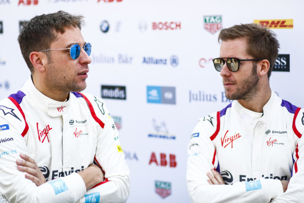 Robin Frijns (NLD), Envision Virgin Racing and Sam Bird (GBR), Envision Virgin Racing