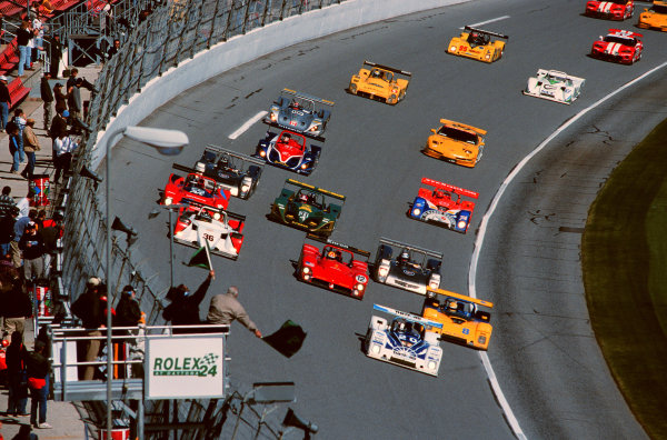 2000 Rolex 24 at Daytona. February 5-6, 2000