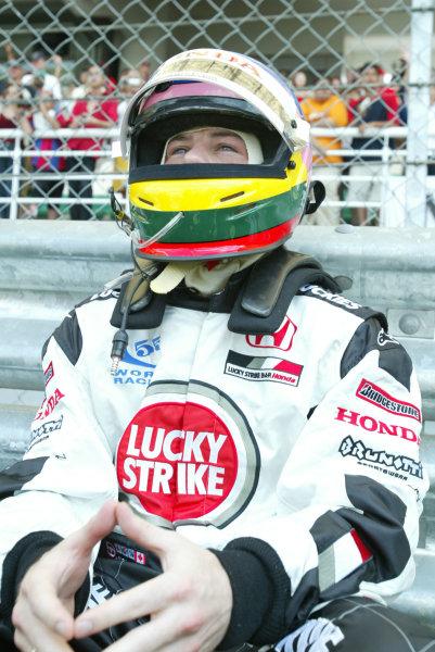 2003 Malaysian Grand Prix. Sepang, Kuala Lumpur, Malaysia.21-23 March 2003.Jacques Villeneuve (B.A R. Honda).World Copyright - LAT Photographic ref: Digital Image Only