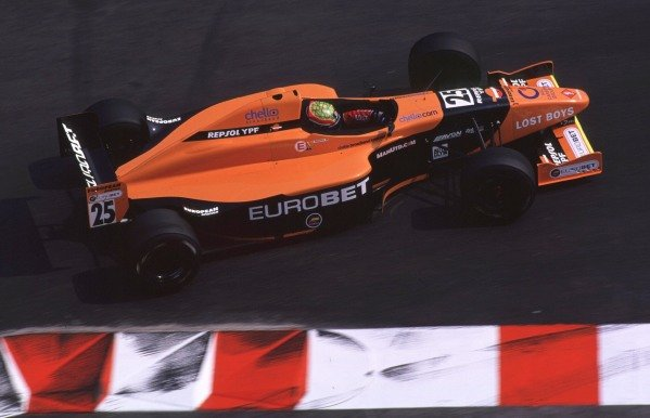 International F3000 MonacoMonte Carlo, Rd 5, 2nd - 3rd june 2000.Mark Webber spent much of the race battling for 4th, before crashing out at the chicane.World - Bellanca/ LAT PhotographicThree Thousand Monaco