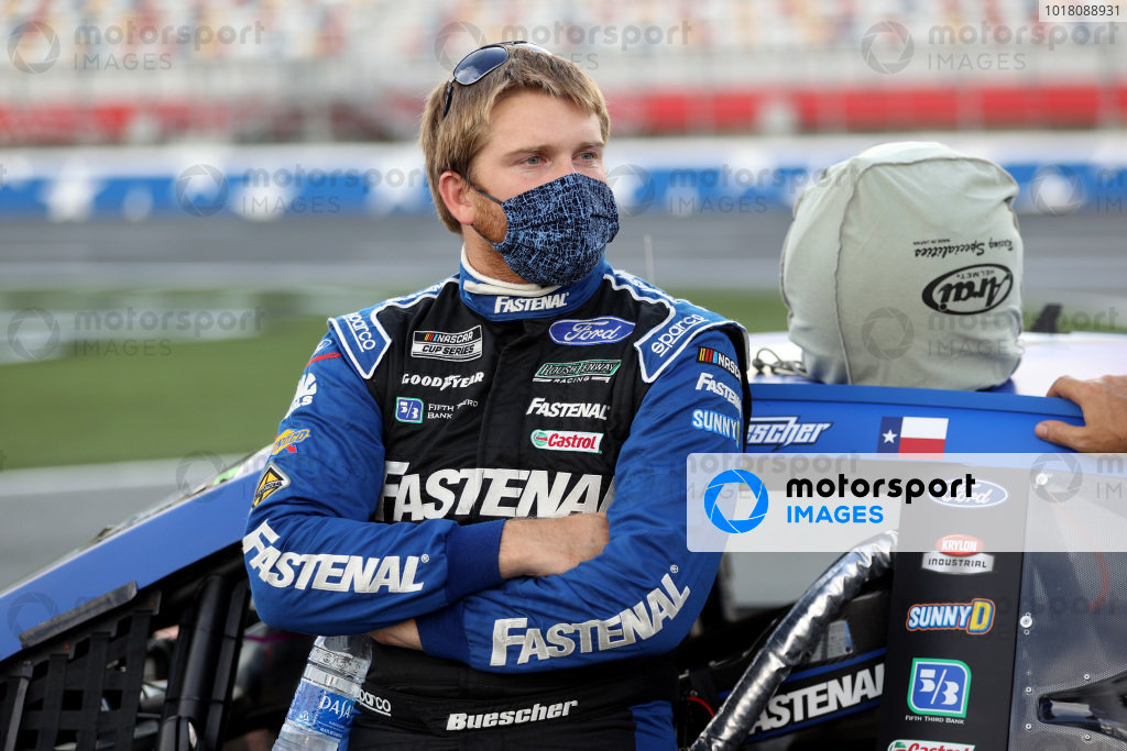 Chris Buescher, Roush Fenway Racing Ford Fastenal Copyright: Chris Graythen/Getty Images