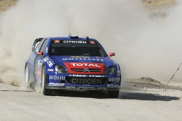 2006 FIA World Rally Champs. Round Three; Rally Mexico.; 2nd - 5th March 2006.Sebastien Loeb, Citroen, action World Copyright: LAT/McKlein