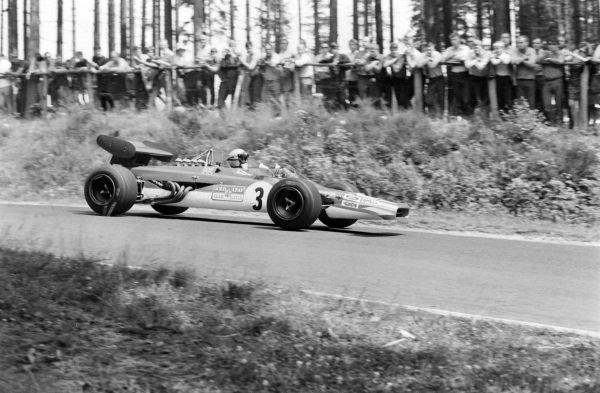 Mario Andretti, Lotus 63 Ford.