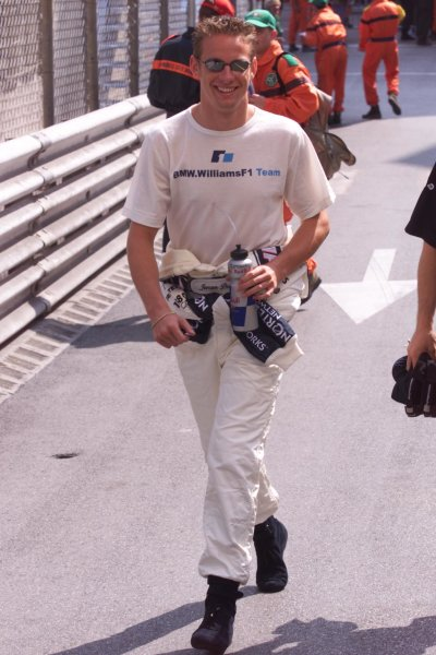 2000 Monaco Grand Prix.Monte Carlo, Monaco.1-4 June 2000.Jenson Button (Williams BMW).World Copyright - LAT Photographic