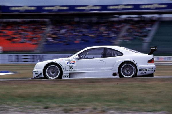 DTM Championship Hockenheim 28th May 2000, Hockenheim, Germanydarren Turner (Mercedes CLK) action.World - Hardwick/LAT