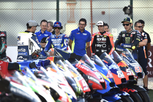 Valentino Rossi, Yamaha Factory Racing, Mortbidelli, Francesco Bagnaia, Pramac Racing.