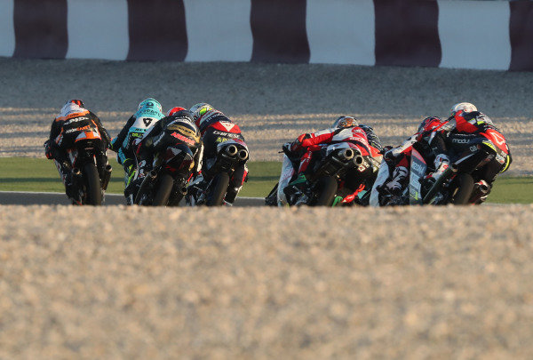 Aron Canet, Max Racing Team leads.