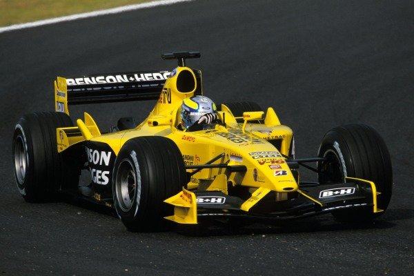 Formula Nippon driver Satoshi Motoyama (JPN) Jordan Ford EJ13 tested for Jordan during the Friday test session.Japanese Grand Prix, Rd16, Suzuka, Japan, 12 October 2003.BEST IMAGE