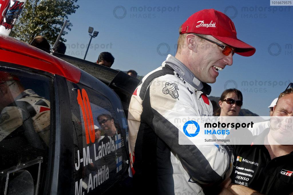 Jari-Matti Latvala (FIN), Toyota Gazoo Racing WRC at World Rally Championship, Rd5, Rally Argentina, Day Two, Villa Carlos Paz, Cordoba, Argentina, 29 April 2017.
