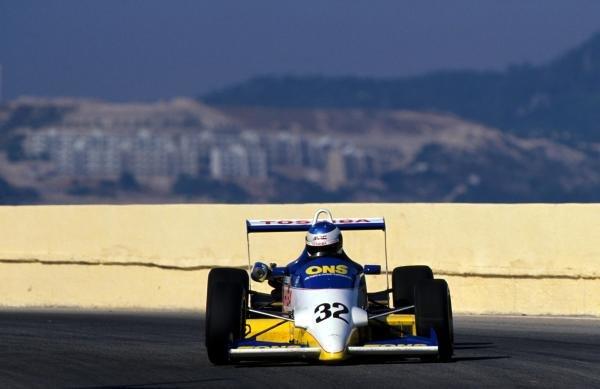 Michael Schumacher (GER) WTS Motorsport, won leg one but only managed 13th overall. 36th Macau Formula Three Grand Prix, Macau, Hong Kong, 26 November 1989