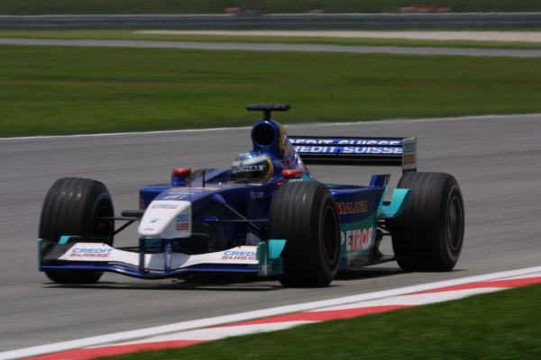 2001 Malaysian Grand Prix.Sepang, Kuala Lumpur, Malaysia.16-18 March 2001.Nick Heidfeld (Sauber C20 Petronas).World Copyright - LAT PhotographicRef-8 9MB Digital