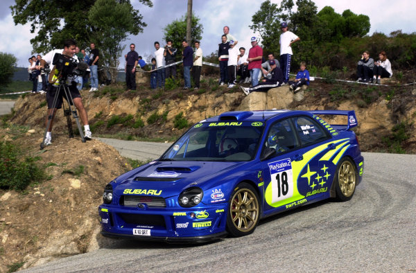 2001 World Rally Championship.