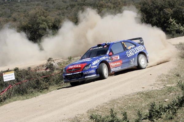 2006 FIA World Rally Championship.Round 7. 18th - 21st May 2006.Rally of Italy, Sardinia.Xavier Pons, Citroen, action.World Copyright: McKlein/LAT