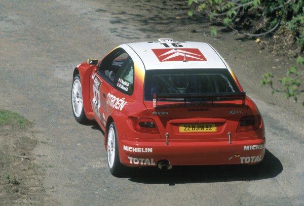 1999 World Rally Championship.Tour de Corse, Corsica, France. 7-9 May 1999.Philippe Bugalski/Jean-Paul Chiaroni (Citroen Xsara Kit Car), 1st position.World Copyright: LAT PhotographicRef: 35mm transparency 99RALLY06