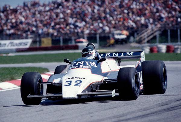 1981 Austrian Grand Prix.Osterreichring, Zeltweg, Austria.14-16 August 1981.Jean-Pierre Jarier (Osella FA1B Ford) 10th position.Ref-81 AUT 31.World Copyright - LAT Photographic