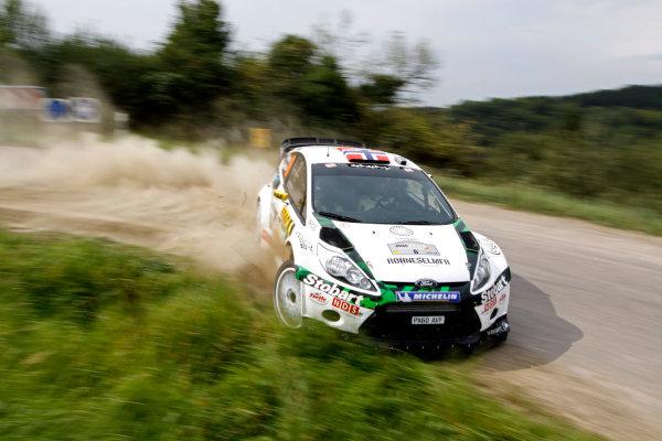 Round 09 - Rally Deutschland 18-21 August 2011.Mads Ostberg, Ford WRC, Action.Worldwide Copyright: McKlein/LAT