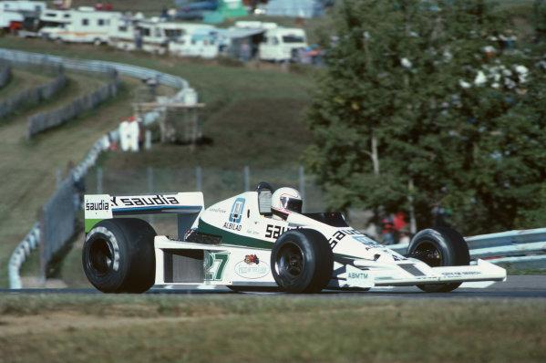 Watkins Glen, New York, USA. 28/9-1/10 1978. Alan Jones, Williams FW06 Ford, 2nd position. Ref: 78USA05. World Copyright - LAT Photographic
