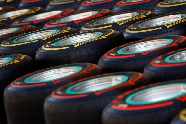 Korea International Circuit, Yeongam-Gun,South Korea.13st October 2011.Tyres. Detail. World Copyright:Charles Coates/LAT Photographicref: Digital Image _X5J0623