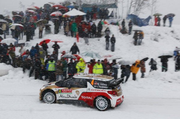 2014 World Rally Championship Monte Carlo Rally 13th - 19th January 2014 Mads Ostberg, Citroen, action Worldwide Copyright: McKlein/LAT