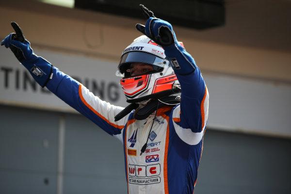 2015 GP3 Series Round 8. Bahrain International Circuit, Bahrain Saturday 21 November 2015. Luca Ghiotto (ITA, Trident)  Photo: Jakob Ebrey/GP3 Series Media Service. ref: Digital Image AD8T9900