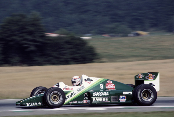 1985 Austrian Grand Prix.Osterreichring, Zeltweg, Austria.16-18 August 1985.Philippe Alliot (Ram 03 Hart).Ref-85 AUT 35.World Copyright - LAT Photographic