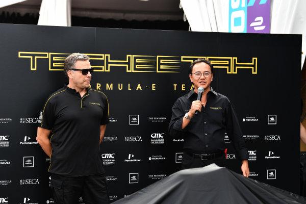 2017/2018 FIA Formula E Championship. Riound 1 - Hong Kong, China. Saturday 1 December 2018. Techeetah presentation. Photo: Mark Sutton/LAT/Formula E ref: Digital Image DSC_7520