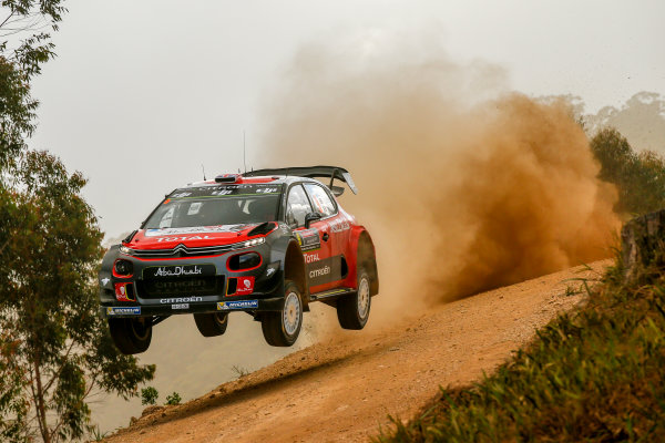 2017 FIA World Rally Championship, Round 13, Rally Australia 2017, 16-19 November 2017, Kris Meeke, Citroen, action, Worldwide Copyright: LAT/McKlein