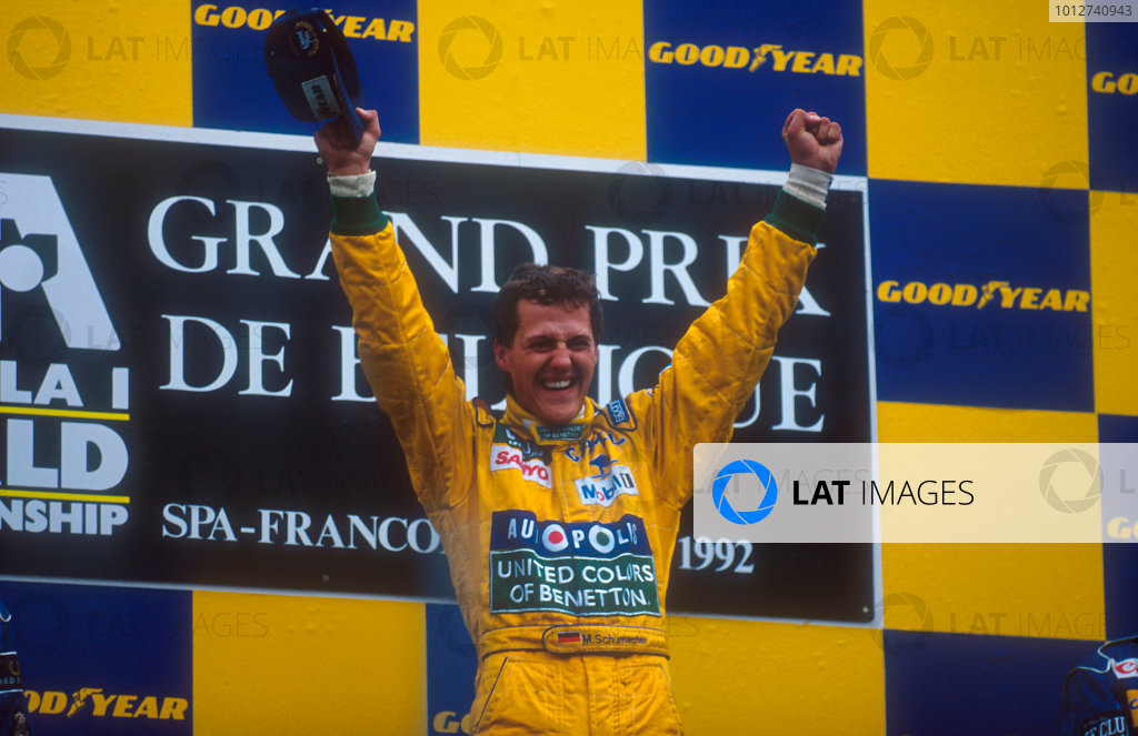 1992 Belgian Grand Prix.