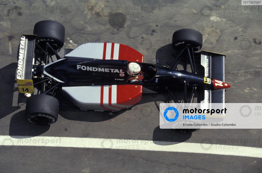 Gabriele Tarquini, Fondmetal Fomet-1 Ford.