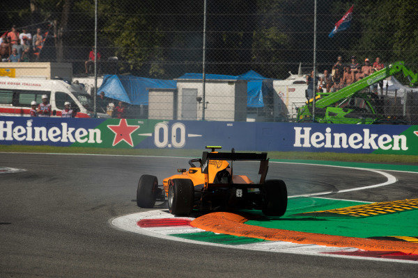 AUTODROMO NAZIONALE MONZA, ITALY - SEPTEMBER 07: Alessio Deledda (ITA, Campos Racing) during the Monza at Autodromo Nazionale Monza on September 07, 2019 in Autodromo Nazionale Monza, Italy. (Photo by Joe Portlock / LAT Images / FIA F3 Championship)