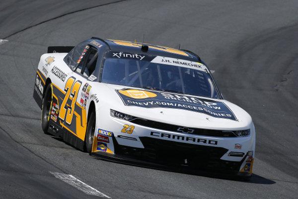 #23: John Hunter Nemechek, GMS Racing, Chevrolet Camaro Chevy Accessories