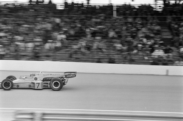Johnny Rutherford, McLaren M16C Offenhauser.