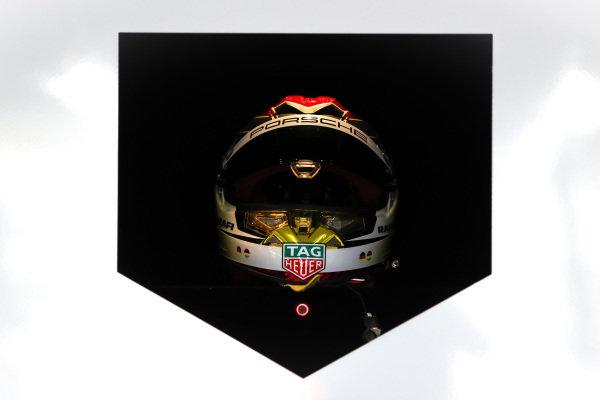 Helmet of Pascal Wehrlein (DEU) Tag Heuer Porsche, Porsche 99X Electric